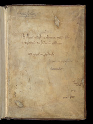 Ownership Inscription, In Peter Comestor, Historia Evangelica And Other Works bpd
